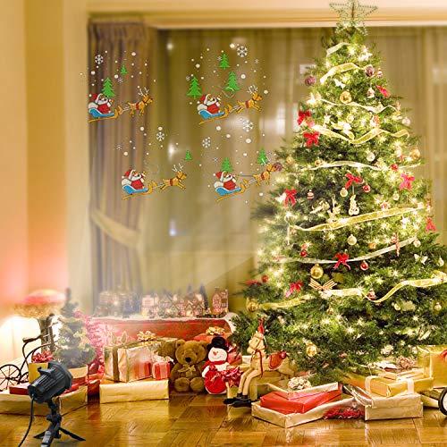 Proiettore Luci Natalizie Interno.Proiettore Luci Natale Esterno Con 15 Diverse Diapositive Maxcio