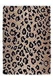 Shaggy Hochflor Teppich Leo Beige - Germany Munich (200 x 290 cm) - 100% Polypropylen Heatset Frisée