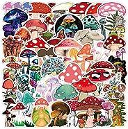 Cute Mushroom Stickers for Water Bottle, Skateboard, Laptop, Computer, Phone, Trendy Decal for Teen Bike, Trav