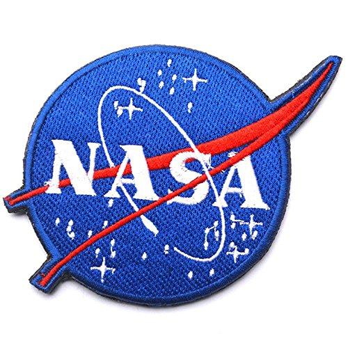 Logo Space Vector Patch Embl/ème tactique militaire Arm/ée brod/ée /à coudre badge Nasa Programme National Aeronautics and Space Administration