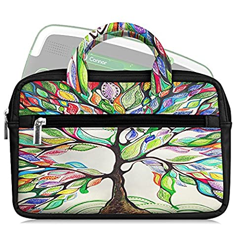 Fintie Universel 6-8 pouces Housse, Étui Case Sacoche en avec poignée Pour Tablette PC Enfant, Fire Kids Edition, Amazon FreeTime Kid-Proof, Fire HD 6/ HD 7/ HD 8/ HDX 7/ Fire 7, Kindle Oasis (Love Tree)