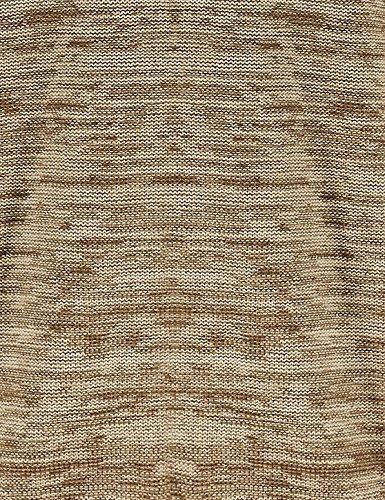 Strendiger 2-Farben Winter 2017 Strick Pullover von Lavecchia in den Größen: 3XL - 8XL ecru-beige