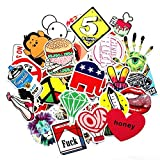 Blue Vessel 50pcs Stil Random Cartoon Notebuch Gepäck Skateboard Sticker Aufkleber