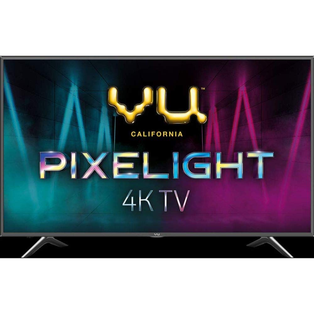 VU 108 cm (43 Inches) 4K Ultra HDR Smart LED TV 43PX (Black) (2019 Model)