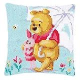 Vervaco Disney–Winnie The Pooh in The Rain Kissen Kreuzstich