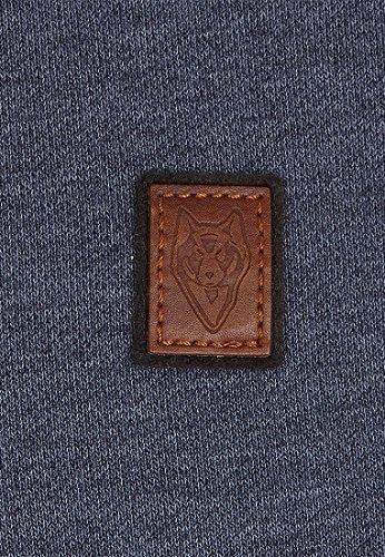 Naketano Male Sweatshirt Kubilay VI Indigo Blue Melange