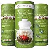 Teabloom Fiori di tè con foglioline di tè della migliore fioritura - 12 varietà - 36 infusioni, 250 tazze - Foglie di tè verde con Gelsomino Naturale