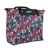#5: Kuber Industries™ Waterproof Foldable Shopping Handbag, Travel Bag (Color & Print may vary as per availability) Set of 2 Pc