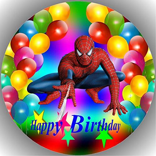 Fondant Tortenaufleger Tortenbild Geburtstag Spiderman T14