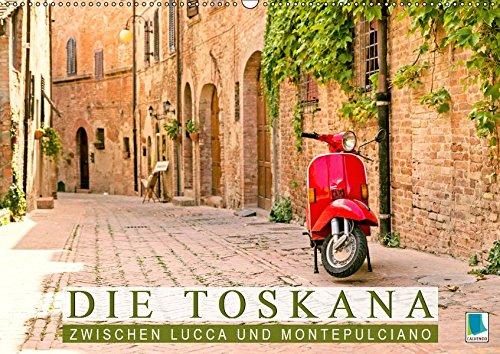 Die Toskana: Zwischen Lucca und Montepulciano (Wandkalender 2019 DIN A2 quer): Bezaubernde Hügel, Haine und Weingärten in der Toskana (Monatskalender, 14 Seiten ) (CALVENDO Orte) -
