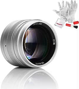 7artisans 50 Mm F1 1 Leica M Mount Manual Focus Fixed Camera Photo