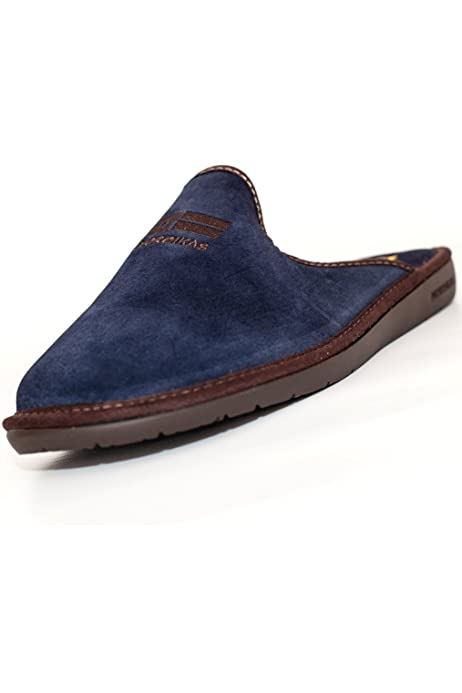 Piel Afelpada Azul Marino (41): Amazon.es: Zapatos y