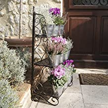Etagere plantes fer forge for Etagere plantes terrasse