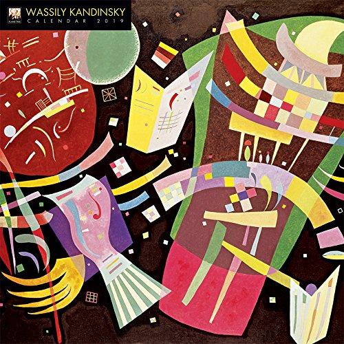 12 X Reiter (Wassily Kandinsky 2019 (Wall-Kalender))