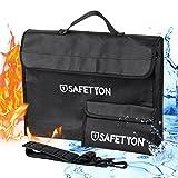 SAFETYON Feuerfest Wasserdicht Dokument Tasche Batteriespeichern Tasche 15 ''X 11'' Widerstehen 1000?