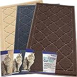 Easyology-Lettiera per gatto, misura XL, motivo: Super Extra Large Scatter controllo Kitty Litter Mats-Lettiera per gatti di inseguimento delle loro Box-Morbido al Touch-Brown