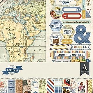 Authentique Paper Explore Collection Kit