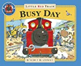 Picture Of Little Red Train: Busy Day