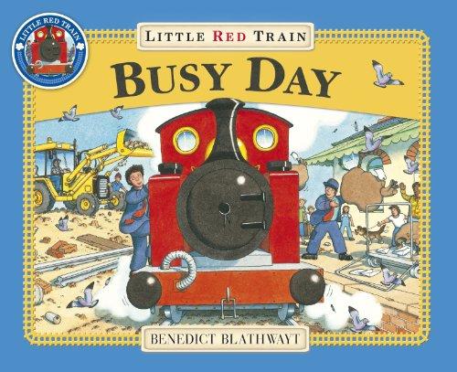 Little Red Train: Busy Day (Dinosaur Train-buch)