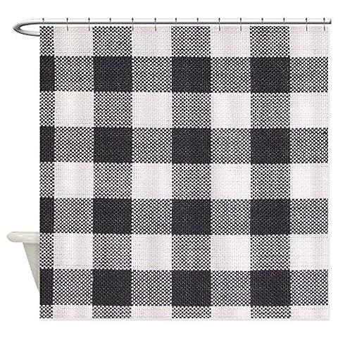 Checkered Muster Stoff–Dekostoff Vorhang für die Dusche