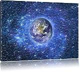 Pixxprint Planète Terre dans l'espaceArt Toile...