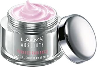 Lakme Absolute Perfect Radiance Skin Lightening Night Creme, 50g
