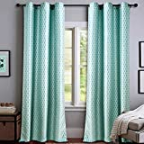 Deco Essential 4 Piece Curtain Tonal Str...