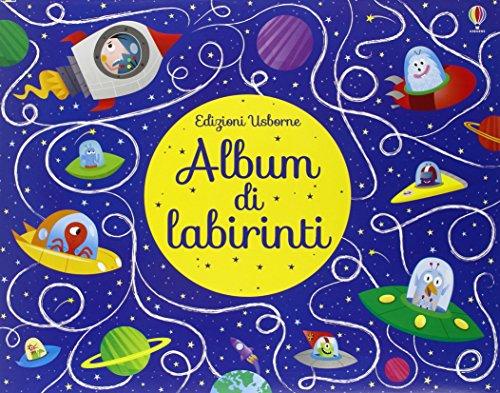 Album di labirinti. disegno passo dopo passo. ediz. illustrata