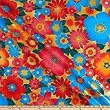 Oil Cloth International 0665439 Oilcloth London Gold Fabric