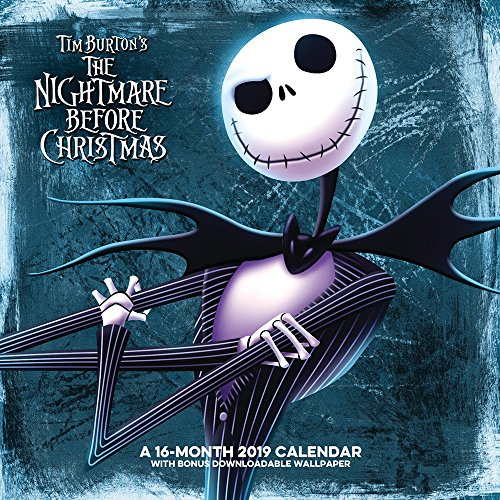 (The Nightmare Before Christmas Wall Calendar (2019))