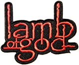 lamb of god Music Band Logo Patch Sew Iron on Embroidered Appliques