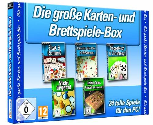 Preisvergleich Produktbild Die große Karten- & Brettspiele-Box