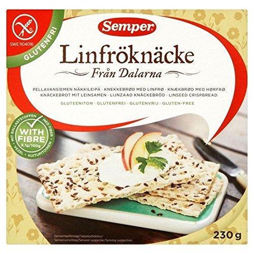 Semper Senza Glutine Semi Di Lino Biscottate 230g