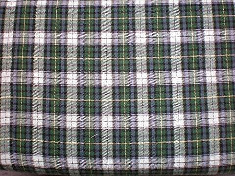 Flanelle à carreaux–Tissu au mètre