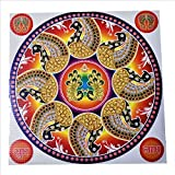 GenNxt Trends 1 Pcs Diwali Special Rangoli Pattern Floor Stickers- Waterproof