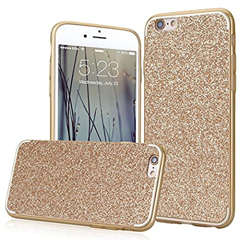 We Love Case Coque iPhone 6S Glitter Bling Étui Silicone