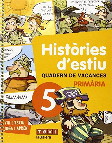 Quadern d'estiu - Cinquè curs (Quaderns estiu) - 9788441219205
