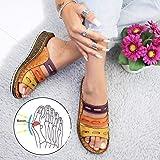 Sandales Big correction Toe pour les femmes, orthopédiques Bunion Correcteur Sandales avec arc support Toe Redresser Chaussur