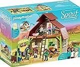 PLAYMOBIL 70118 Spirit-Riding Free Stall mit Lucky, PRU & Abigail, bunt