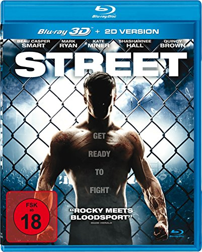 Street - Get ready to fight (Uncut-Kinofassung) [3D Blu-ray] (Knopf-welt-taschen)