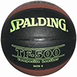 Spalding LNB TF 500 Indoor Basketball für Hallen 6 bunt - Schwarz/Orange