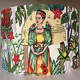 Handmade Lampshade Frida Kahlo Frida's Garden