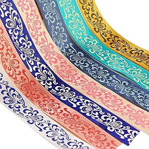 8pcs Hualing DIY Azul y Blanco Porcelana cinta de impresión