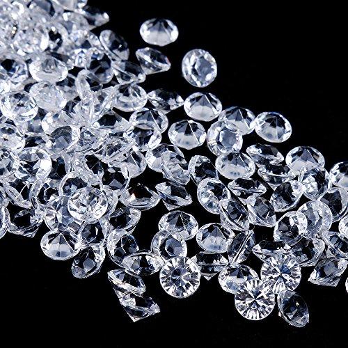 1000 Blau Diamanten Tischdekoration Deko Hochzeit Tischdeko Streudeko Acryl 4,5