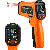 ZOTO Infrared Thermometer, Non Contact Digital Laser Temperature Gun Instant Read -58℉ to 1472℉ with Color LED Display and K-
