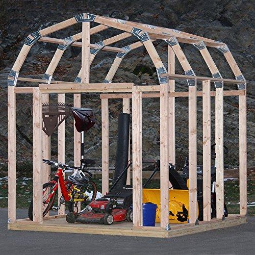 EZ Schuppen 70188Barn Stil Instant Einrahmung Kit