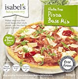 Isabels Brazilian Flavours Gluten and Wheat Free Pizza Mix 300 g (Pack of 4)