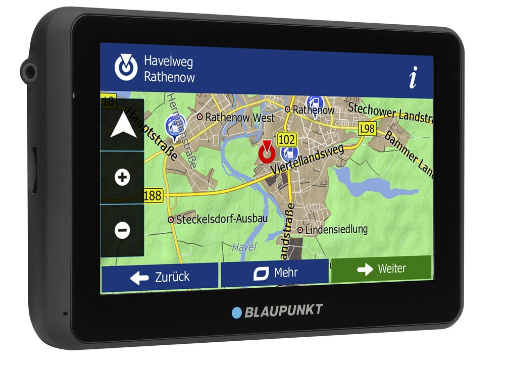 Blaupunkt-TravelPilot-65-Active-EU-LMU-Navigationssystem-mit-Aktiv-Halter-kapazitives-Echtglas-Touch-Farb-Display