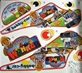 Big-Bobby-Car-Stickers-Aufkleberset-Little-Worker-mit-Baustellenschilderstickern