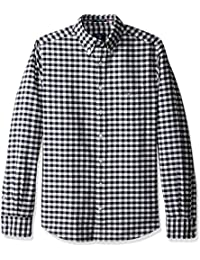 GANT Men's the Oxford Gingham Fitted Bd